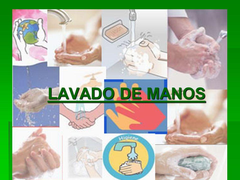 BIOSEGURIDAD LAVADO DE MANOS LAVADO DE MANOS