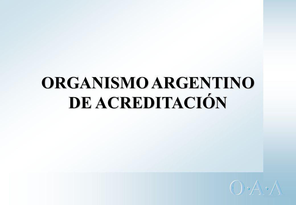 OAA Fuente: OAA Acreditaciones vigentes a septiembre 2002