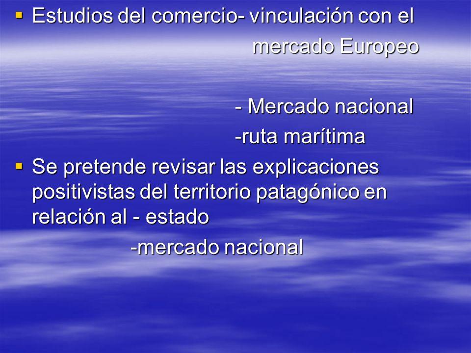 Estudios del comercio- vinculación con el Estudios del comercio- vinculación con el mercado Europeo mercado Europeo - Mercado nacional - Mercado nacio