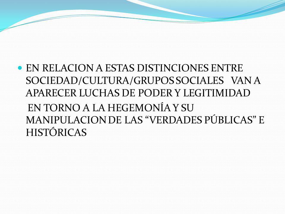 SON LOS HOMBRES CONCRETOS E HISTÓRICOS A PARTIR DE SUS INTERACCIONES SOCIALES, POLÍTICAS Y ECONÓMICAS LOS QUE ORDENAN/CONSTRUYEN ESE ORDEN SOCIAL ESTO IMPLICA QUE ESE ORDEN ENTONCES NO ES NATURAL NI MUCHO MENOS INMODIFICABLE O ETERNO