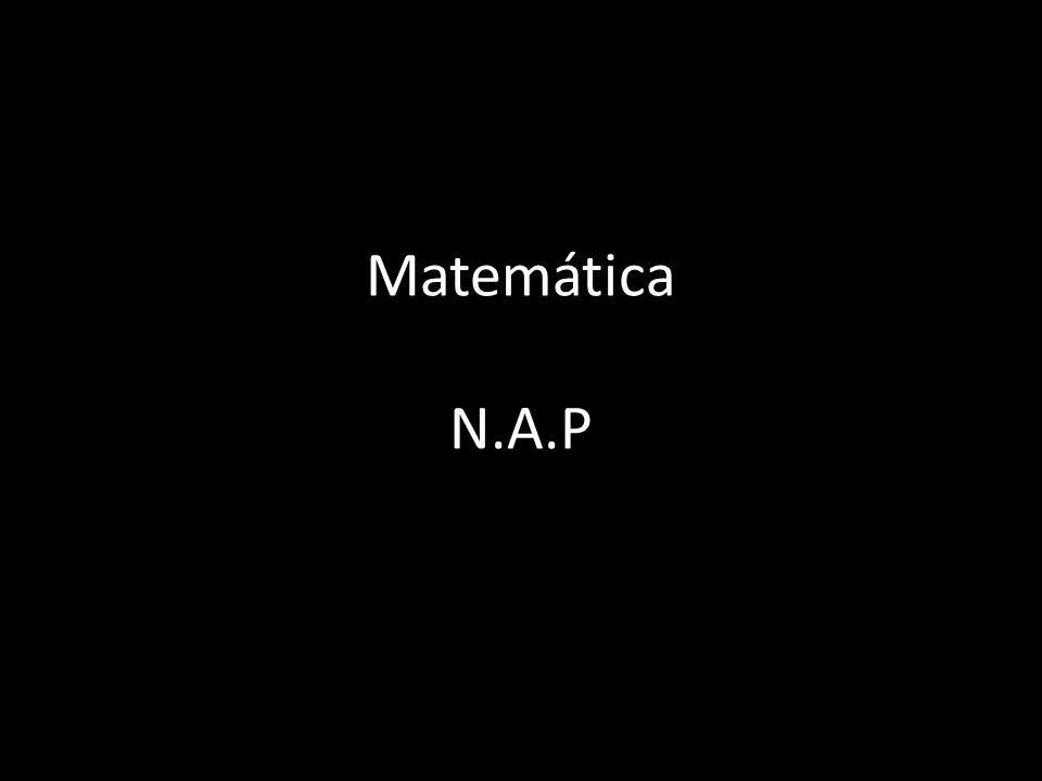 Ejes Estructurantes Números y Operaciones Álgebra y Funciones Geometría y Medida Probabilidad y Estadística