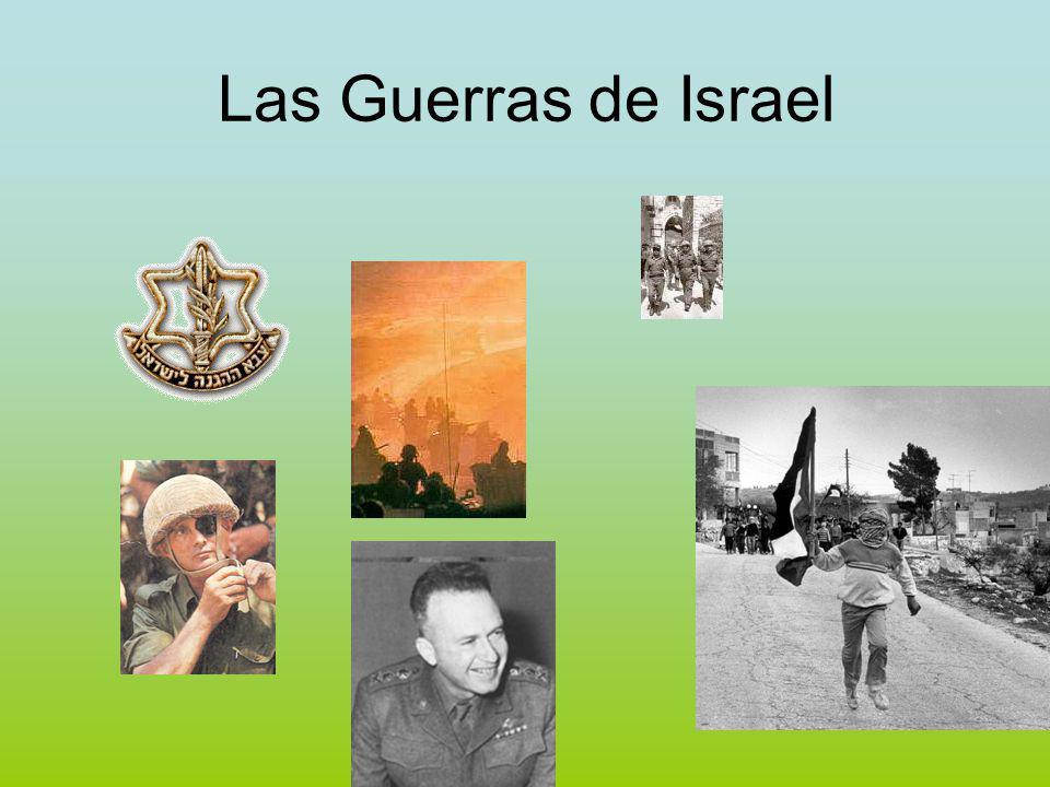 Las Guerras de Israel El Camino a la Guerra del 67 Las fuerzas y sus objetivos ÁRABESTZAHAL 1810Brigada de Blindados 539Brigada de Paracaidistas 2.5001.300Tanques 2.780746Piezas de Artillería 557247Aviones de COmbate 265Misiles Tierra - Aire