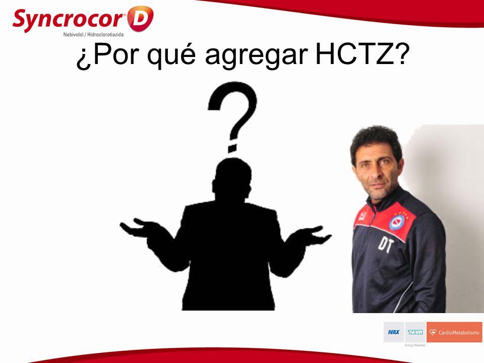 ¿Por qué agregar HCTZ?