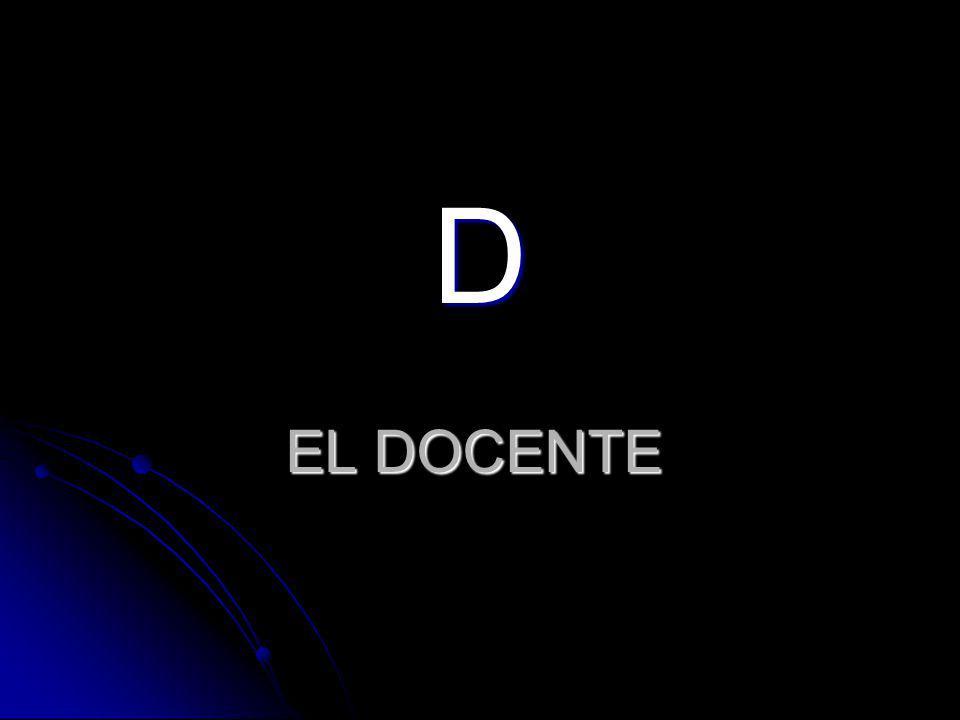 EL DOCENTE D