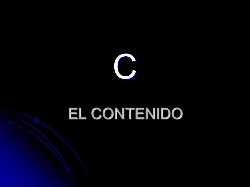 EL CONTENIDO C
