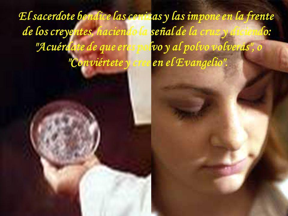 En la Edad Media, los sacerdotes bendecían a los moribundos con agua bendita, diciendo: Acuérdate de que eres polvo y al polvo has de volver.