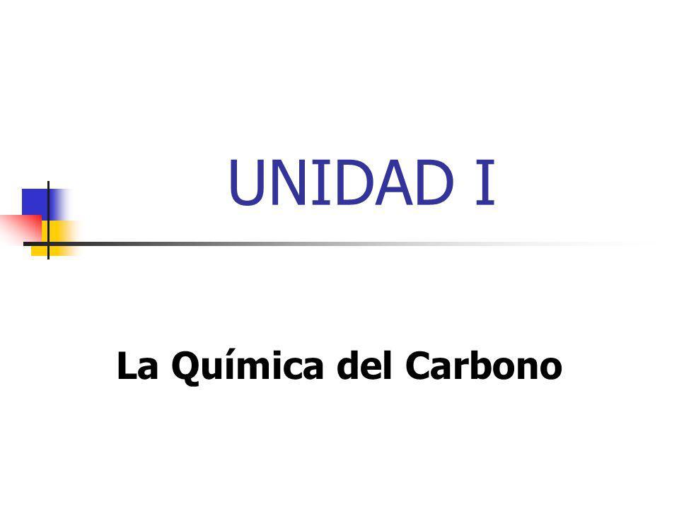 Química Orgánica Es la Química de los compuestos del Carbono.