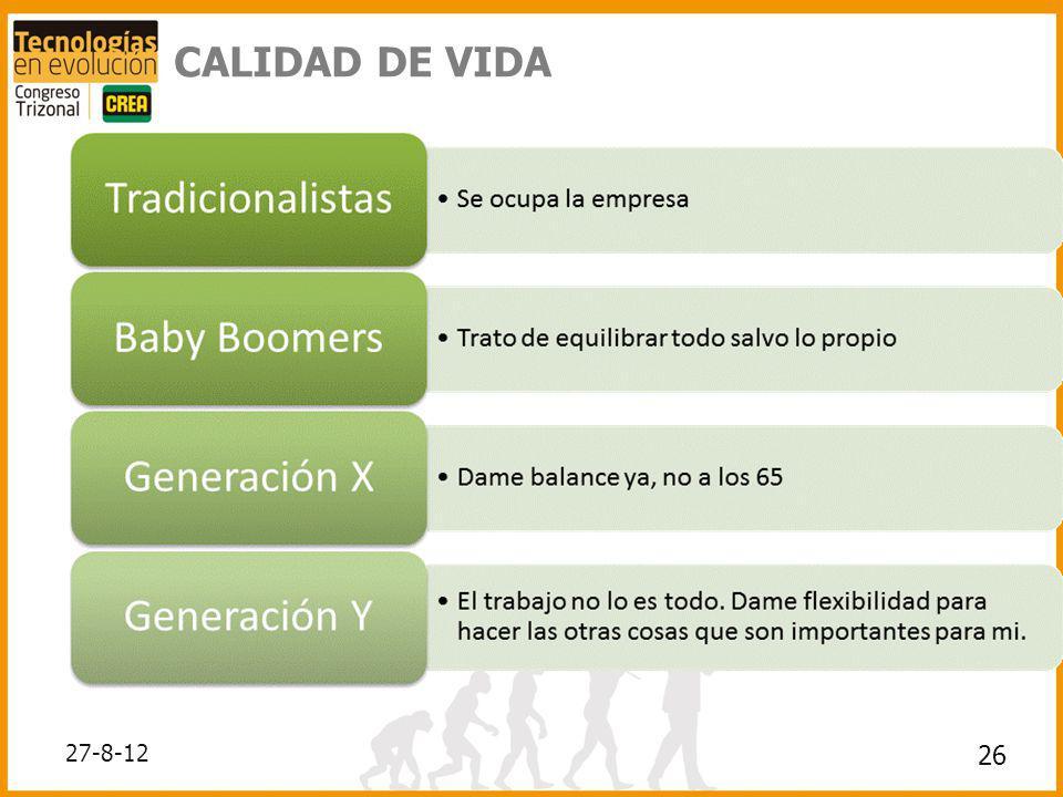 CALIDAD DE VIDA 26 27-8-12