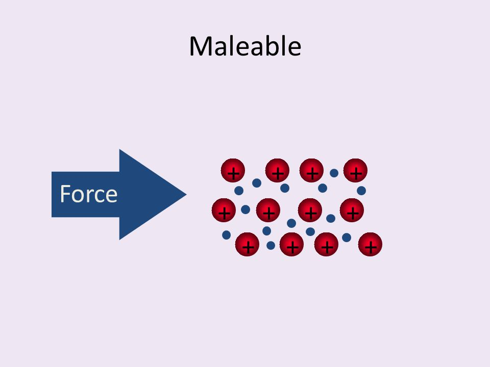Maleable ++++ ++++ ++++ Force