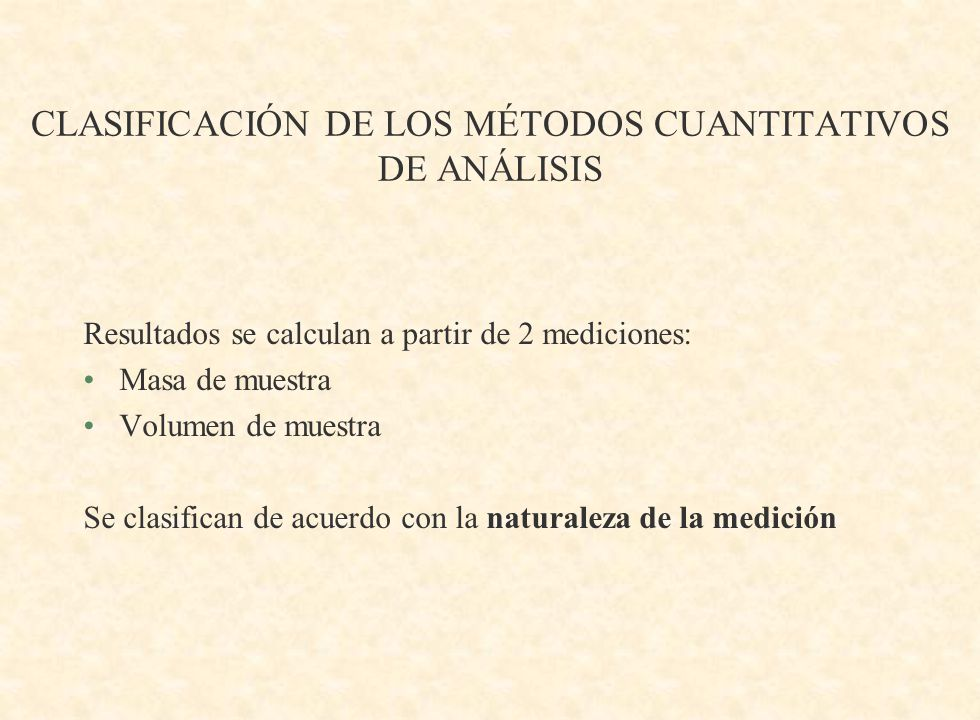 ETAPAS DE UN ANÁLISIS CUANTITATIVO TÍPICO 1.