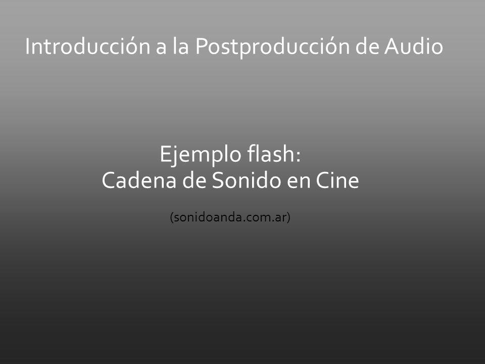 Ejemplo flash: Cadena de Sonido en Cine (sonidoanda.com.ar)
