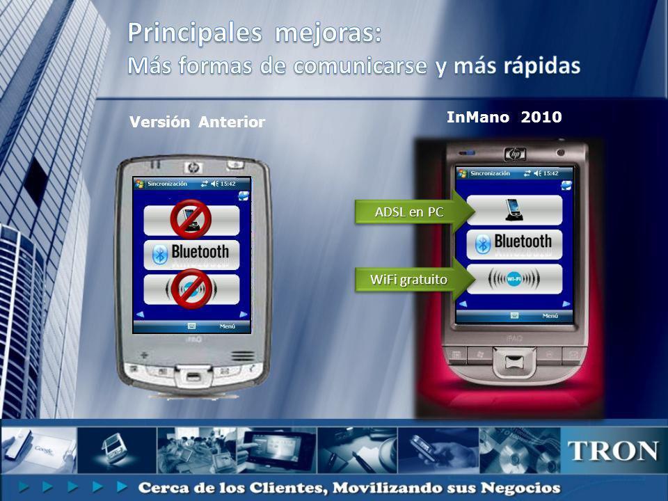 Versión Anterior InMano 2010 ADSL en PC WiFi gratuito
