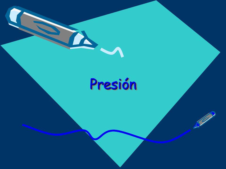 PresiónPresión