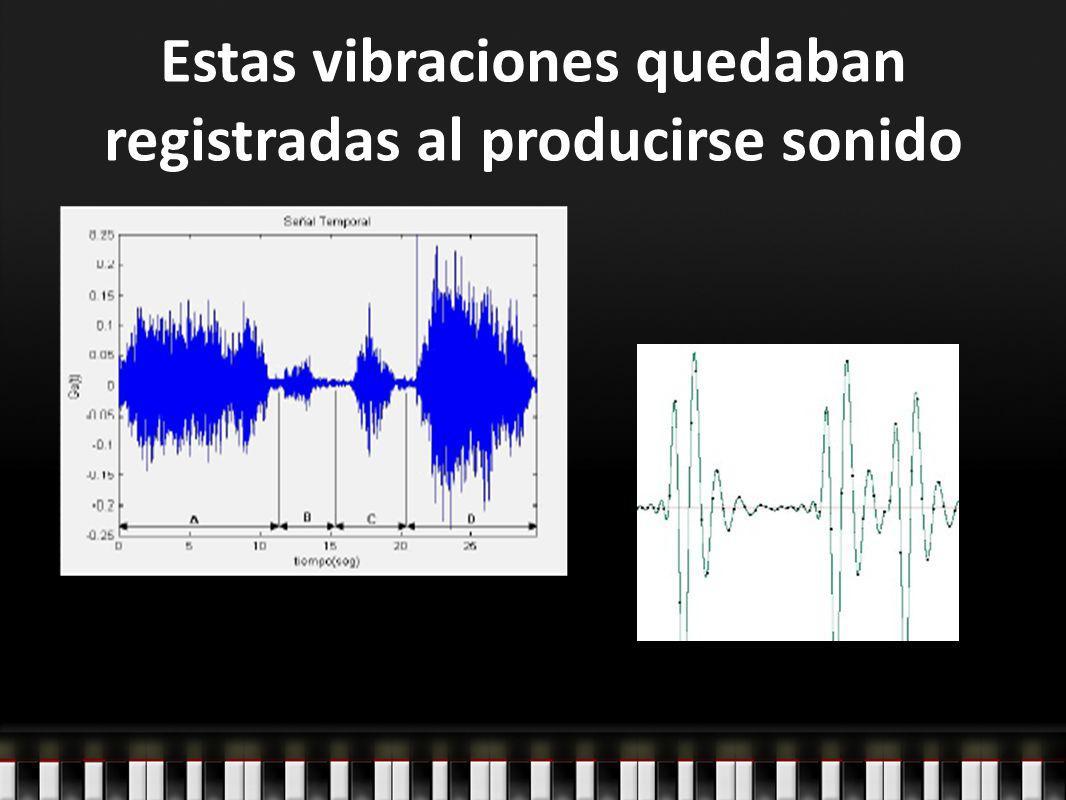 Como las vibraciones registradas tenían formas muy complejas, se buscó entender el sonido con alguna herramienta que represente un movimiento ondulatorio en su forma más simple Para ello se utilizó una función del seno llamada Sinusoide Las sinusoides son también llamadas Tonos Puros