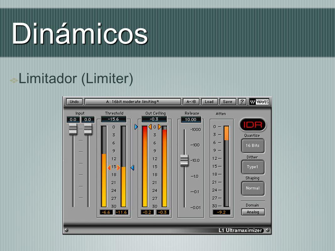 Dinámicos Limitador (Limiter)