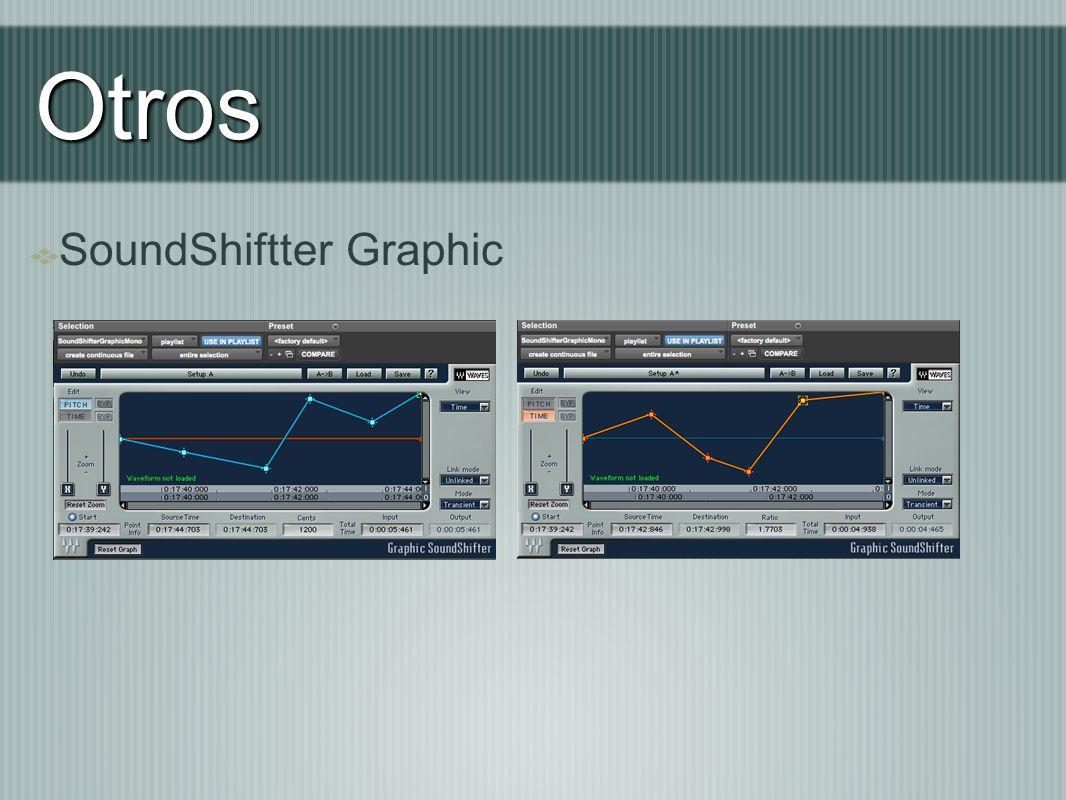 Otros SoundShiftter Graphic