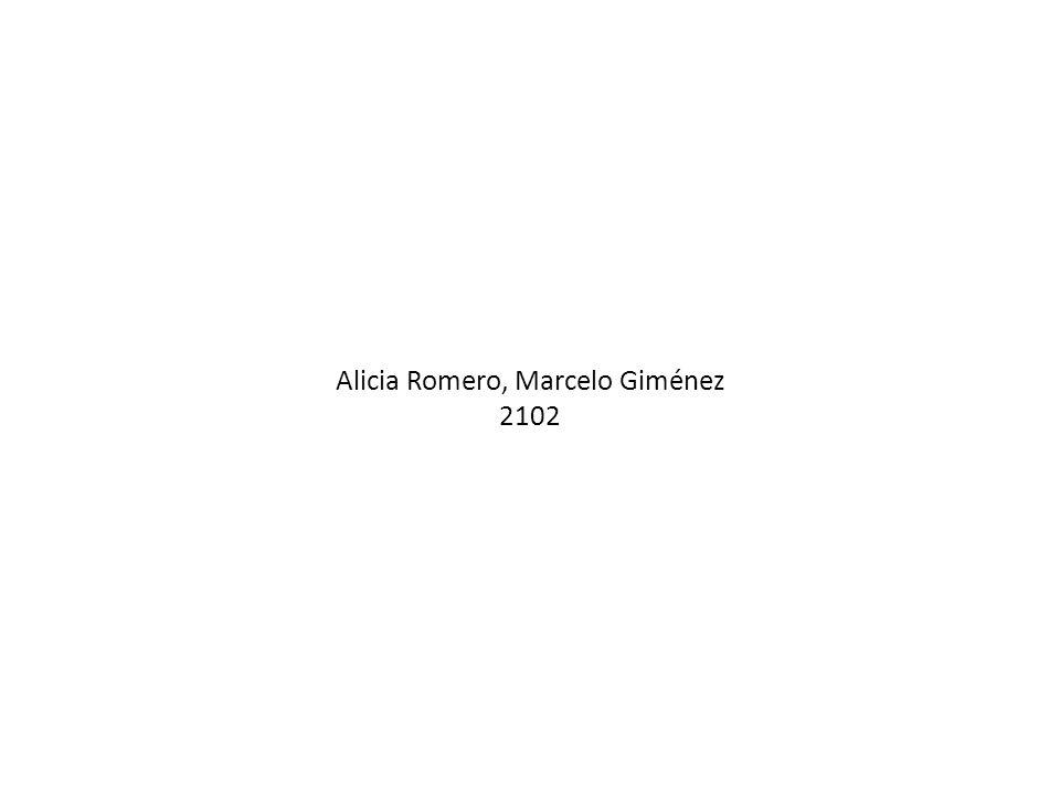 Alicia Romero, Marcelo Giménez 2102