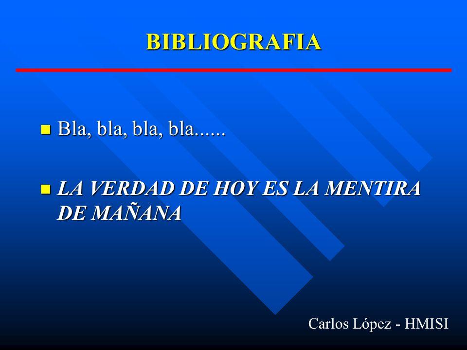 BIBLIOGRAFIA Bla, bla, bla, bla......Bla, bla, bla, bla......