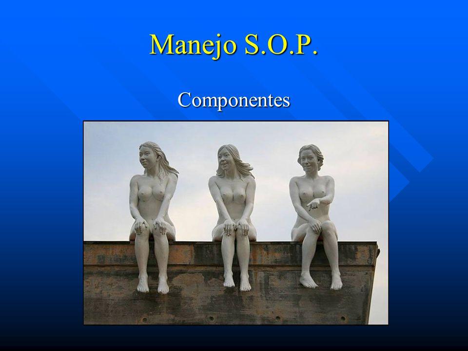 Manejo S.O.P. Componentes