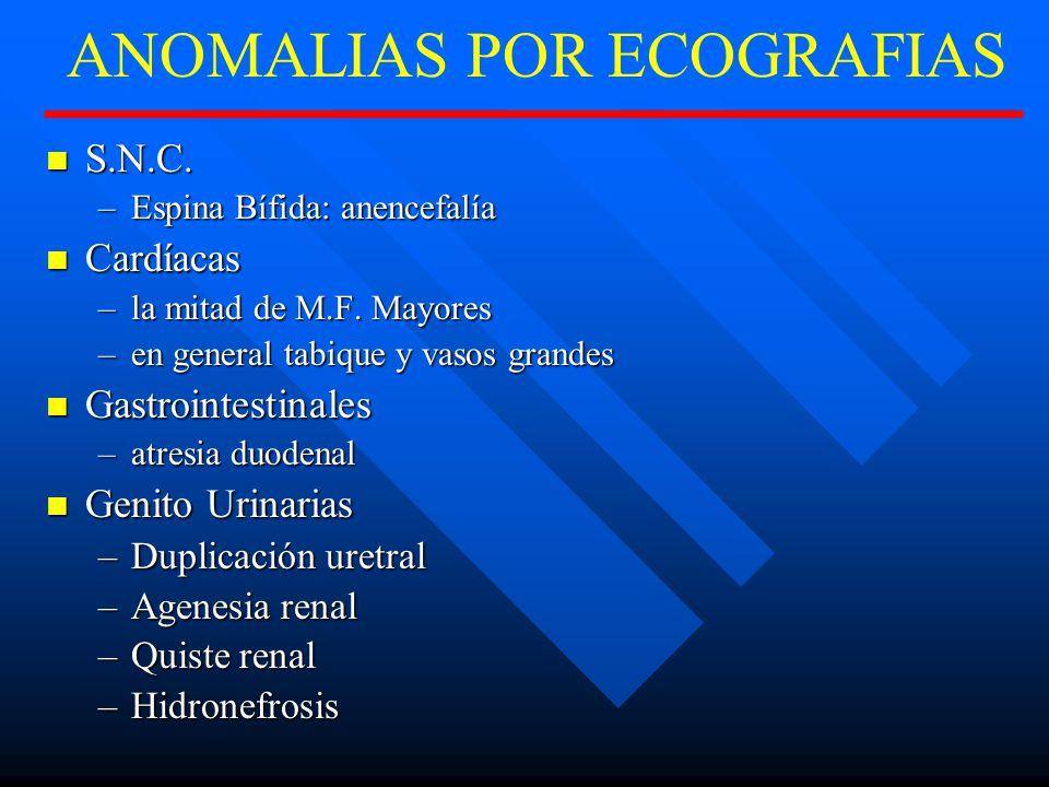 ANOMALIAS POR ECOGRAFIAS S.N.C.S.N.C.