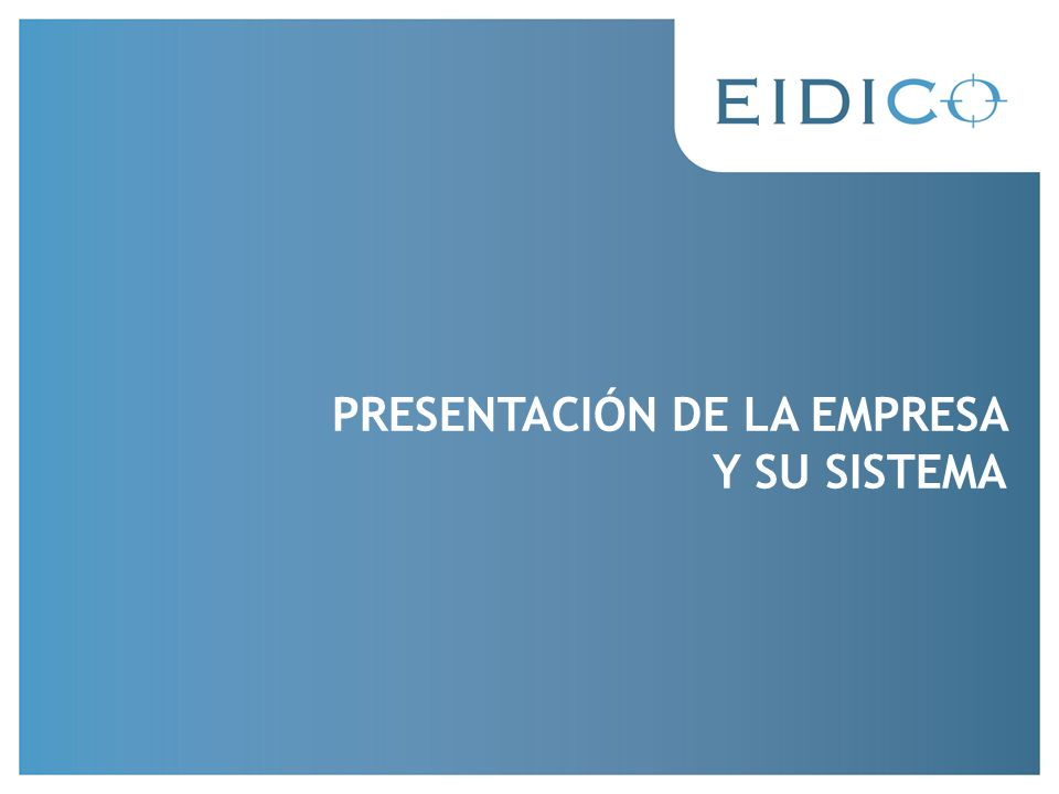 Muchas gracias Contacto: nuevosproyectos@eidico.com.ar Muchas gracias Contacto: nuevosproyectos@eidico.com.ar Muchas gracias Contacto: nuevosproyectos@eidico.com.ar Tel: Esteban Bosch 02944-15608147 nuevosproyectos@eidico.com.ar