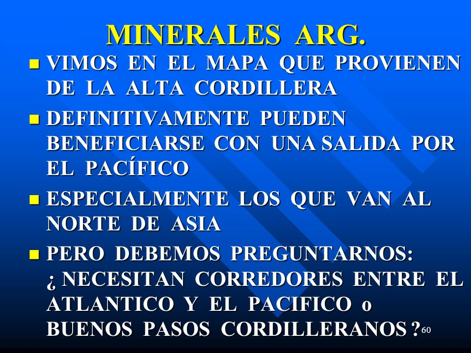 MINERALES ARG.