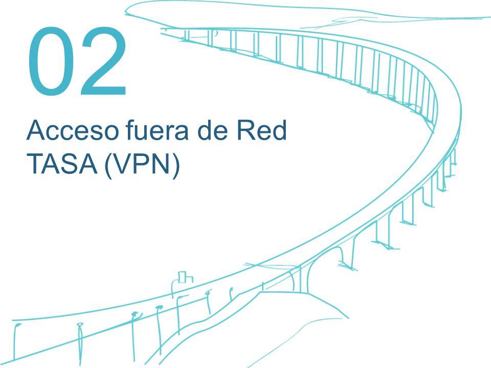 Acceso fuera de Red TASA (VPN) 02