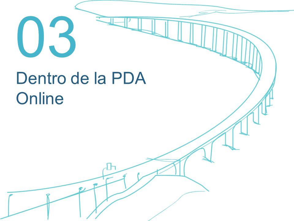 Dentro de la PDA Online 03