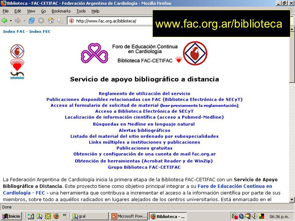 71 www.fac.org.ar/biblioteca