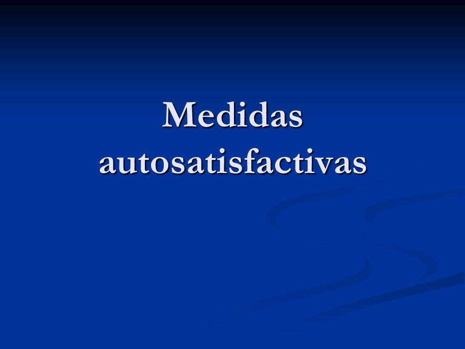 Medidas autosatisfactivas