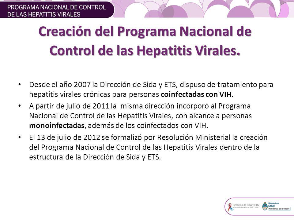 Características de la población de MONOINFECTADOS (hepatitis B y C) Características de la población de MONOINFECTADOS (hepatitis B y C)