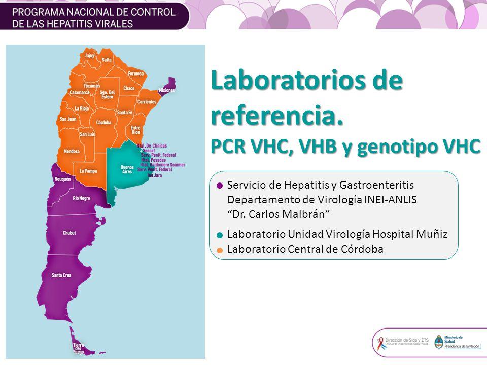 Drogas disponibles para el tratamiento de Hepatitis Virales crónicas de pacientes mono y coinfectados con VIH VHC VHC Interferón pegilado alfa 2 b / alfa 2 a Ribavirina.