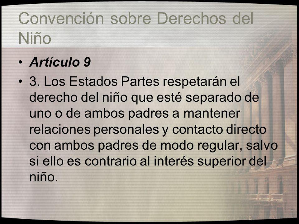Convención sobre Derechos del Niño Artículo 11 1.