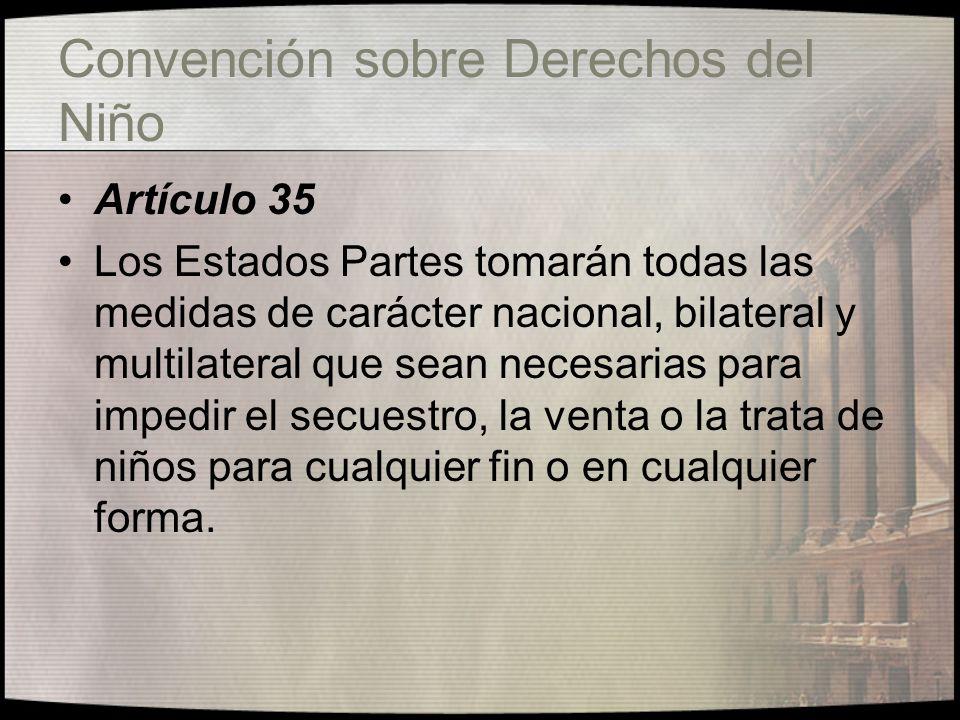 Convención sobre Derechos del Niño Artículo 10 2.
