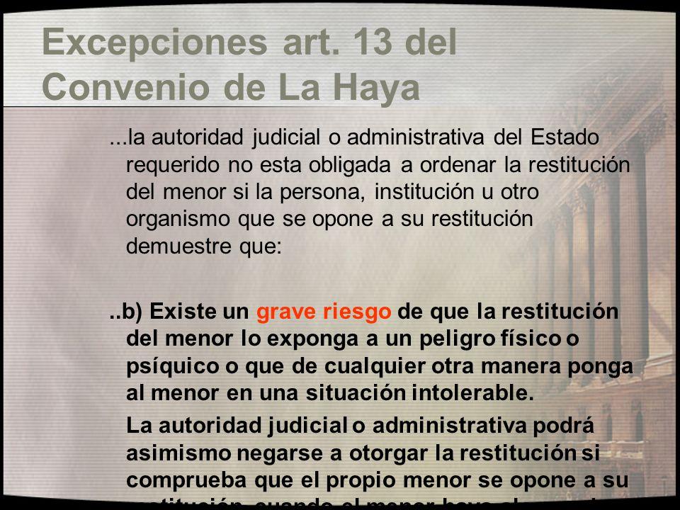 Funciones Autoridad Central Arts.