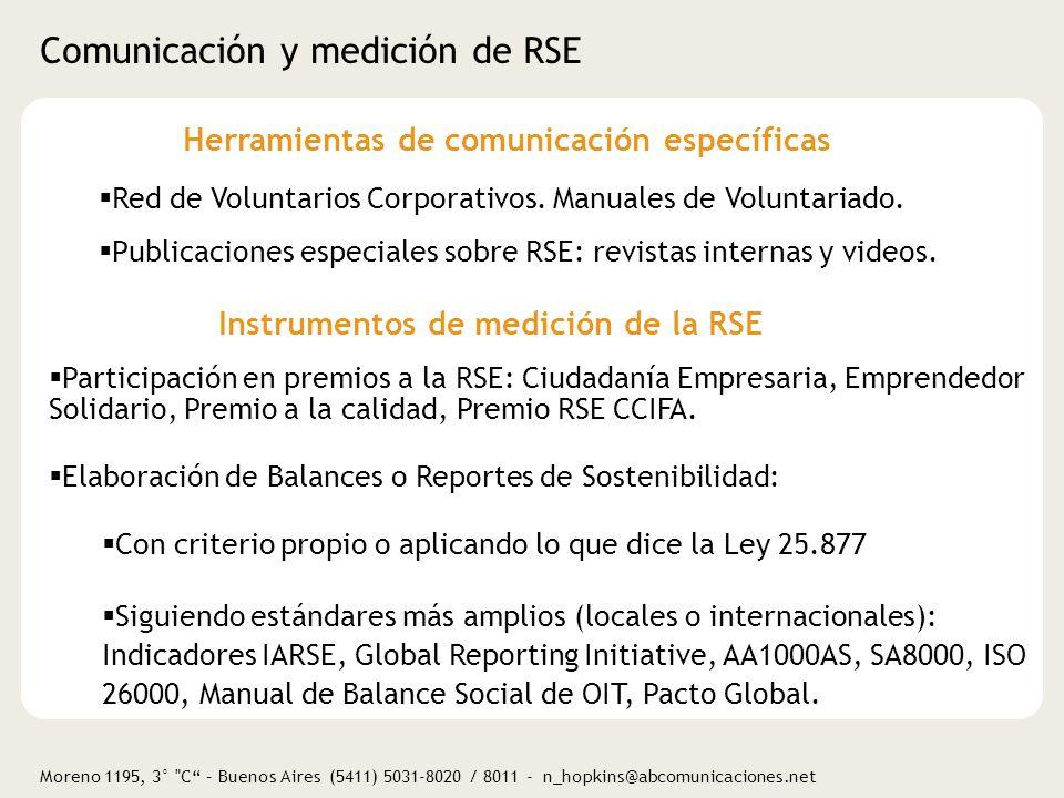 Moreno 1195, 3° C – Buenos Aires (5411) 5031-8020 / 8011 - n_hopkins@abcomunicaciones.net Fuentes de consulta Publicaciones y/o foros CENARSECS y RED Universidades por la RSE: www.econ.uba.ar /www.redunirse.orgwww.econ.uba.ar Foro Ecuménico Social: www.foroecumenico.com.arwww.foroecumenico.com.ar IARSE: www.iarse.orgwww.iarse.org Boletín ComunicaRSE: www.comunicarseweb.com.arwww.comunicarseweb.com.ar Revista Valor Sostenible: info@valorsotenible.com Revista Tercer Sector: redaccion@tercersector.org.ar Gestión Social / UDESA: gestionsocial@udesa.edu.argestionsocial@udesa.edu.ar