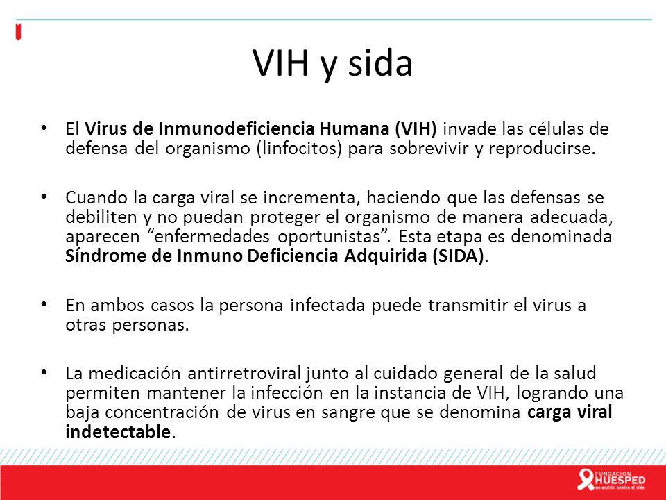 VIH y sida El Virus de Inmunodeficiencia Humana (VIH) invade las células de defensa del organismo (linfocitos) para sobrevivir y reproducirse. Cuando