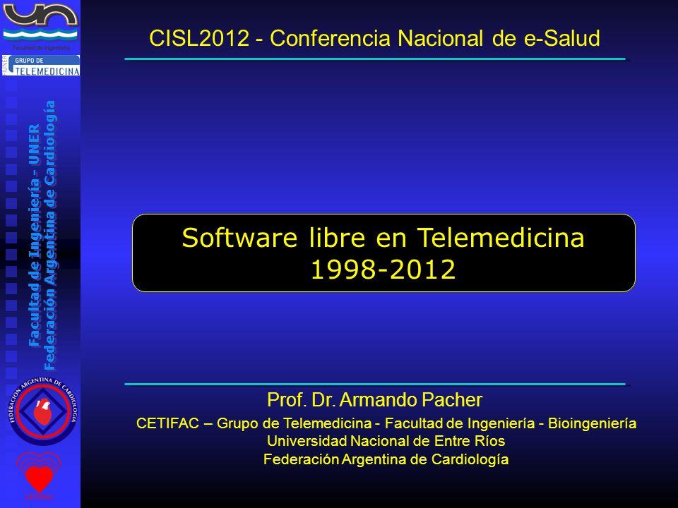 Facultad de Ingeniería - UNER Federación Argentina de Cardiología ¿Cómo funciona un congreso a través de Internet.