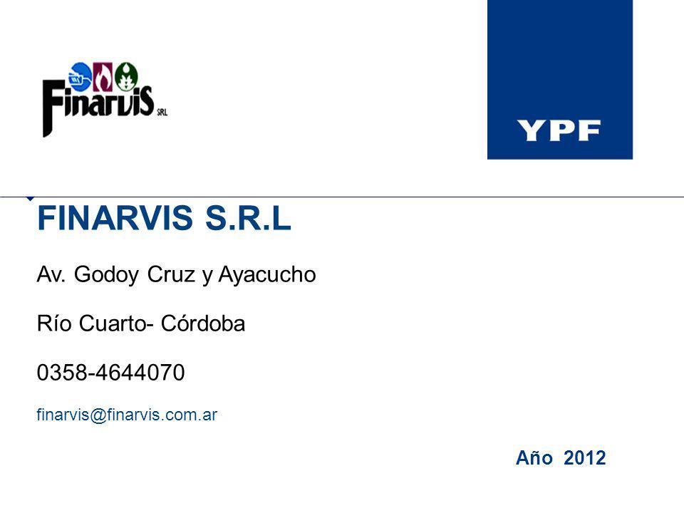 FINARVIS S.R.L Av. Godoy Cruz y Ayacucho Río Cuarto- Córdoba 0358-4644070 finarvis@finarvis.com.ar Año 2012