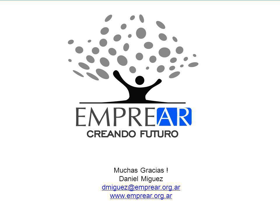 © 2010 Copyright - Documento realizado en base al libro: El Emprendedor Profesional autor Daniel Miguez con la colaboración de Luis Nantes Muchas Gracias .