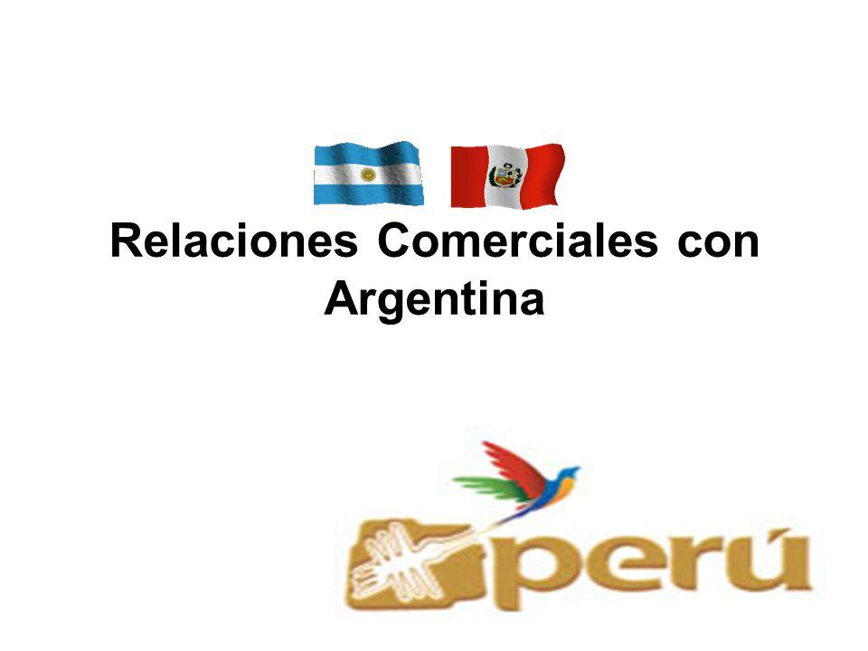 Relaciones Comerciales con Argentina