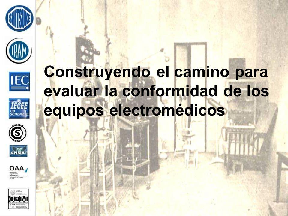 Construyendo el camino para evaluar la conformidad de los equipos electromédicos