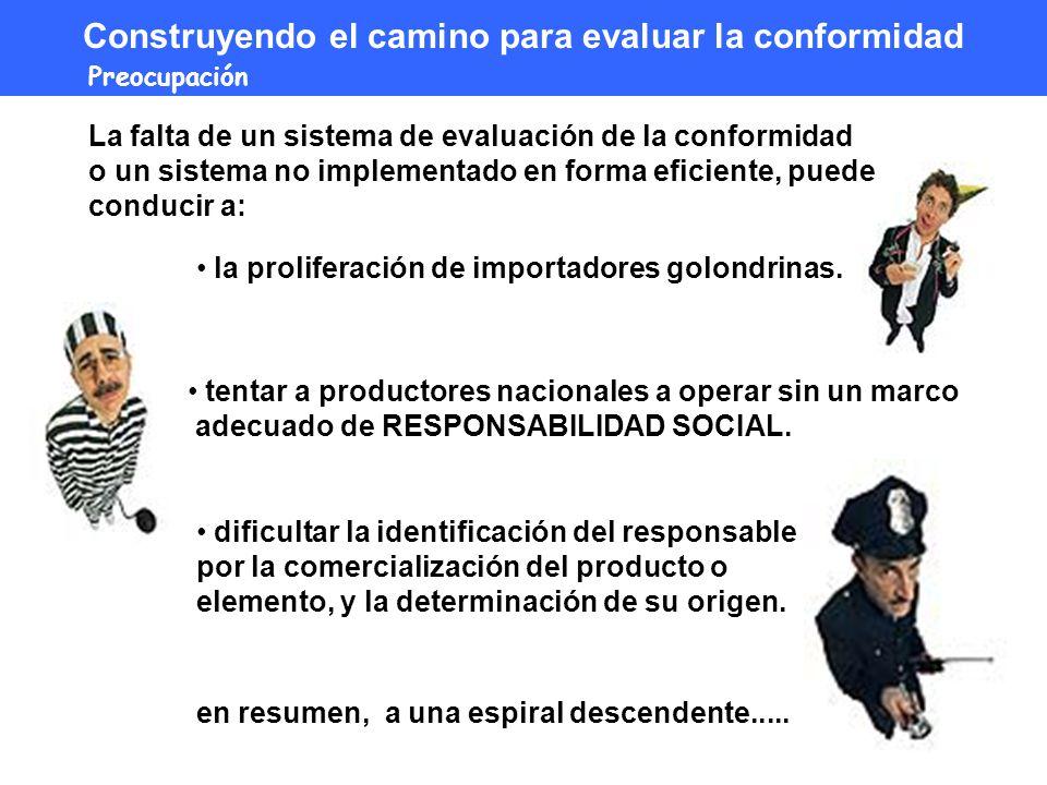 dificultar la identificación del responsable por la comercialización del producto o elemento, y la determinación de su origen.