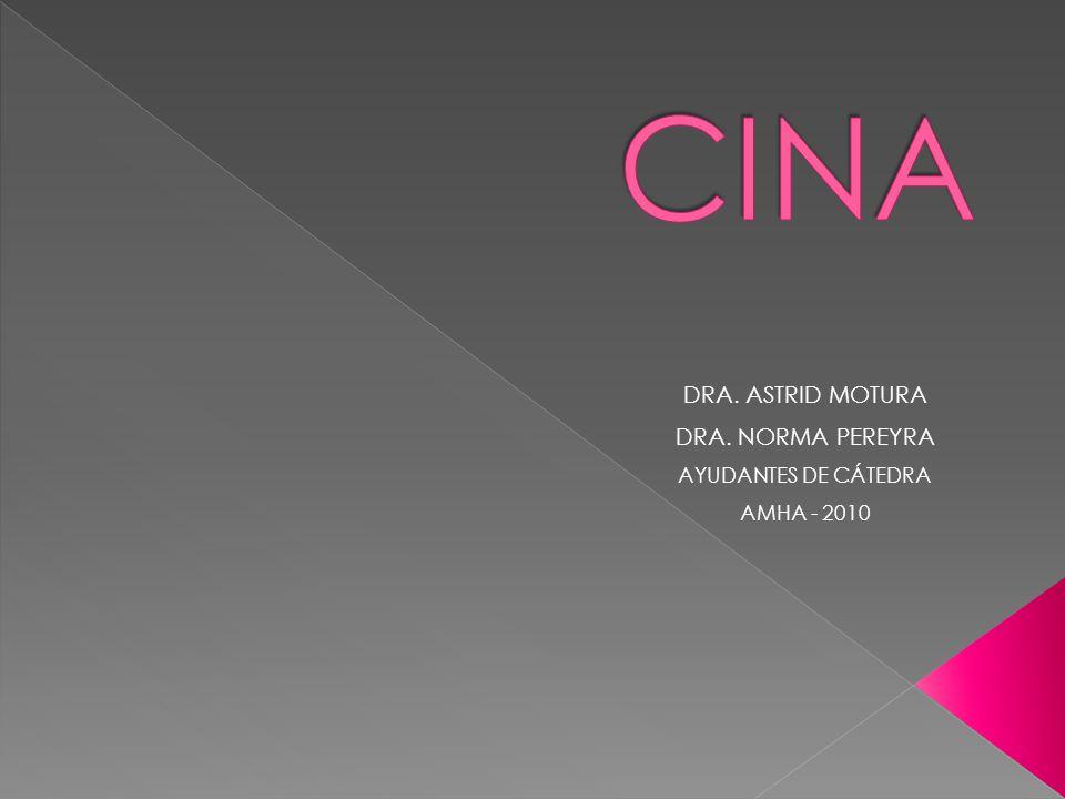 DRA. ASTRID MOTURA DRA. NORMA PEREYRA AYUDANTES DE CÁTEDRA AMHA - 2010