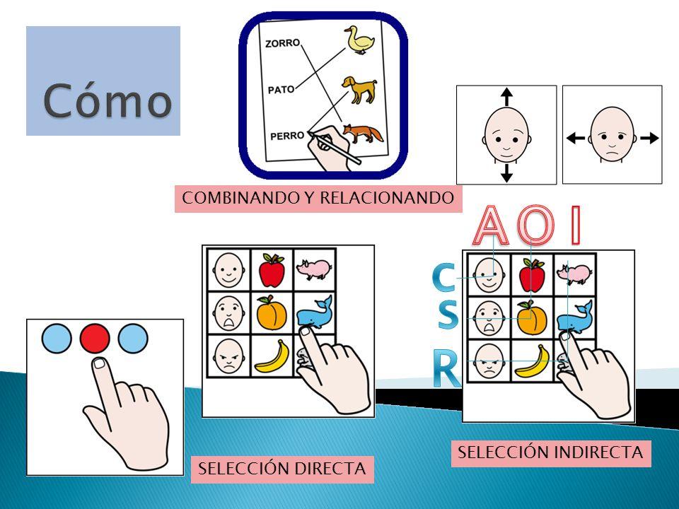 SELECCIÓN INDIRECTA SELECCIÓN DIRECTA COMBINANDO Y RELACIONANDO