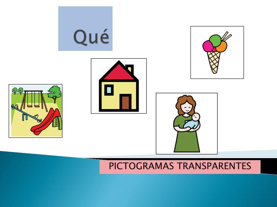 PICTOGRAMAS TRANSPARENTES