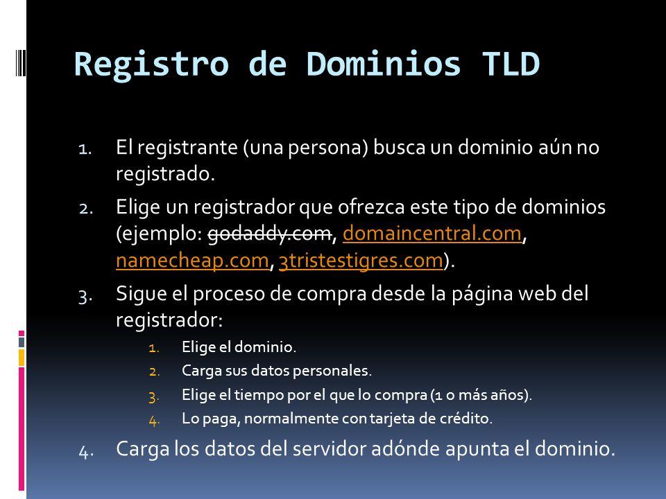 Registro de Dominios TLD 5.