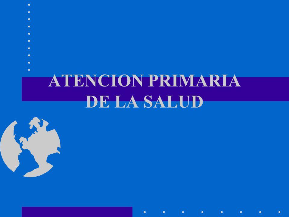 ES LA ASISTENCIA ESENCIAL, BASADA EN METODOS Y TECNOLOGIAS PRACTICOS, CIENTIFICAMENTE FUNDADOS Y SOCIALMENTE ACEPTABLES, PUESTA AL ALCANCE DE TODOS LOS INDIVIDUOS Y FAMILIAS DE LA COMUNIDAD, MEDIANTE SU PLENA PARTICIPACION, Y A UN COSTO QUE LA COMUNIDAD Y EL PAIS PUEDAN SOPORTAR, EN TODAS Y CADA UNA DE LAS ETAPAS DE SU DESARROLLO CON ESPIRITU DE AUTORRESPONSABILIDAD Y AUTODETERMINACION.