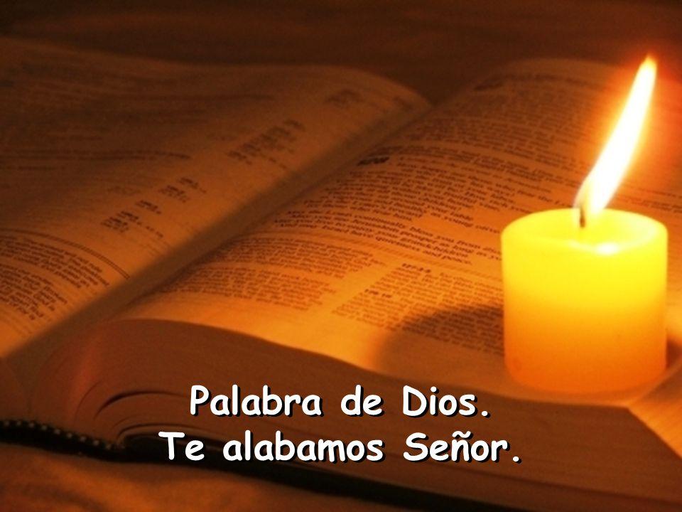 se doble toda rodilla en el cielo, en la tierra y en los abismos, y toda lengua proclame para gloria de Dios Padre: Jesucristo es el Señor.
