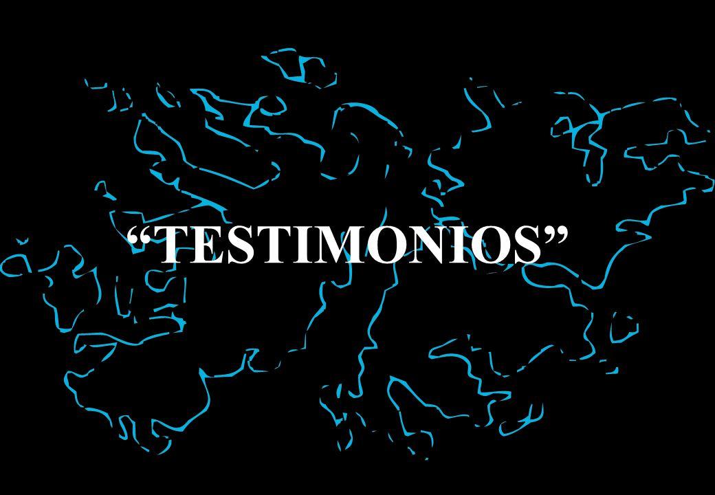TESTIMONIOS